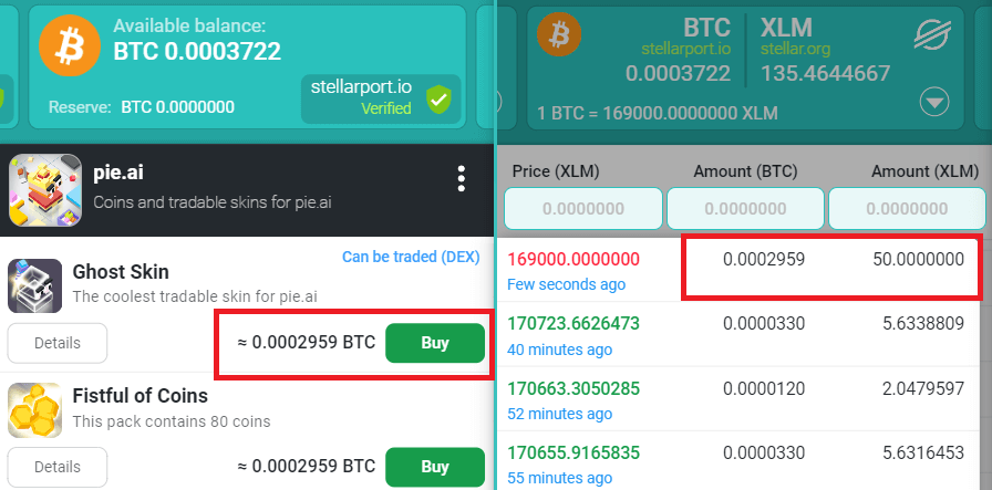shop dex interaction litemint