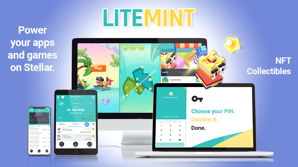 Litemint Apps and Games Platform on Stellar